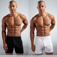 2015 Free shipping opening cotton casual shorts capris aro knee-length pants men underwear boxers