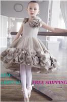 74 2015 luxury flowers ball gown flower girl dresses for weddings girls pageant dresses prom dress custom made 2015