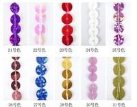 Free Shipping Washable 10cm wide sequins fringe, 15yards/unit, hologram lavender pink, Free DHL express 3lots+