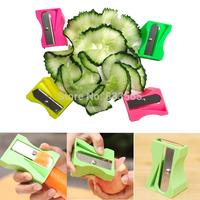 A6 Carrot Cucumber Sharpener Peeler Kitchen Gadget Tool Vegetable Fruit Slicer IB060 P