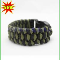 Multicolor rope survival bracelet survival products