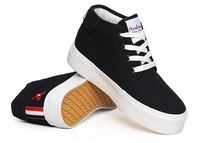 A new high for canvas shoes with thick soles sneakers loafers students