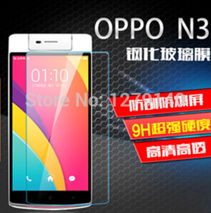 OPPO N3 cellular phone Tempered Glass Screen Protector/Tempered Glass Membrane Explosion Proof Ultra thin 9H(China (Mainland))