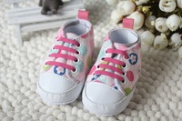 2015 New White Cute Newborn Baby First Walkers Shoes Girls Princess Mary Janes Big Bow Lovely Babe Infant Shoes Prewalker Shoes