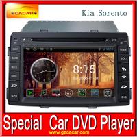 Car DVD for Kia Sorento 2009-2012 with DVD GPS USB SD Bluetooth FM function car radio DVD player