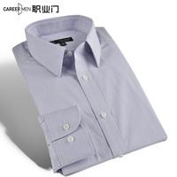 Commercial 2014 male shirt autumn 100% cotton plaid slim long-sleeve shirt