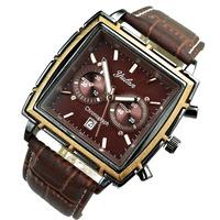 2015 new mens quartz watch women  wristwatch 4 color fashion casual watch famous brand leather strap watch dress watch
