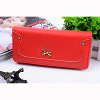 Ms han edition metal ma long twenty percent purse Female more than pure color screens zero wallet card bag wholesale