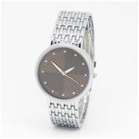 Silver Stainless Steel Lovers' Watches Men Women Dress Watch Couple Luxury wristwatches Man watch Male relogio masculino clock
