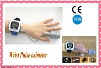 Wrist Pulse Oximeter SPO2 monitor CE FDA Approved