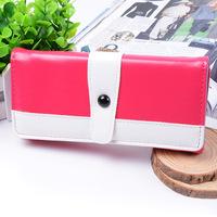 New 2015 ms buckles bump color wallet Wholesale fashion simple creative women's zero purse Wholesales