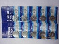 CR2032 battery 3V coin-cell battery e-CR2032 button e-commerce electronic