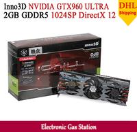 Inno3D GTX960 ULTRA NVIDIA GTX 960 2GB GDDR5 128bit DirectX 12 1024SP HDMI DVI DisplayPort Desktop Graphics Card