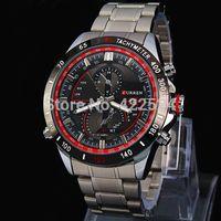 Brand Fashion Casual Man Watch Big Watch Stainless steel Male Quartz Watch Curren Wriswatch military watches