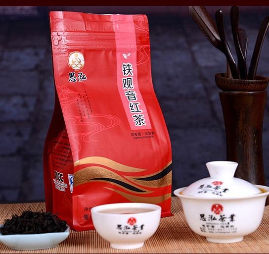 Top Grade Chinese Tieguanyin black tea 200g free shipping Organic Congou Warm stomach smoked red tea lose weight heaith care(China (Mainland))