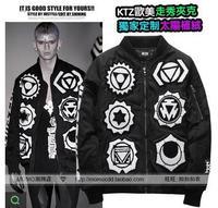 Free shipping New style unisex KTZ fashion jacket religion famous brand cool hiphop coat