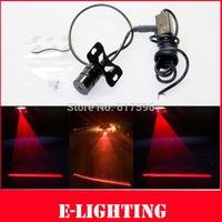 12V  24V Universal LED Laser Rear Tail Indicator Lamp Fog Lights Trailer Car Truck Red