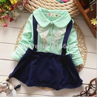 wholesale !2015 Hot Sale Girls Dresses Lovely Clothing For Kids Girl George Children Dress Vestidos baby girls dress