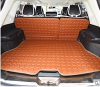 Best quality! Special luggage mats for Nissan x-trail 2015 waterproof durable leather trunk mats for X TRAIL 2014,Free shipping