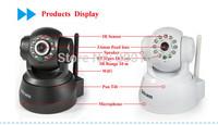 Wireless IP Camera WIFI 0.3MP IP cctv camera P2P IP night vision CCTV Camera