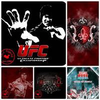 Bruce Lee UFC Mouse Pad 450*400*4 game print mousepad mat