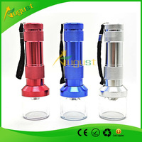 Free Shipping Aluminum Electric Tobacco Grinder Crusher Herb Spice Smoke torch Grinders
