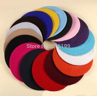 1PC New Fashion Hot Sale Mutiple Colors  Women's Percent Wool Beret French Artist Beanie Hat Cap