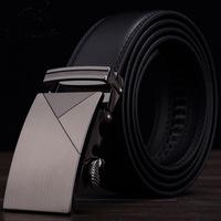 2015 Men's genuine leather belt buckle belt automatic alloy fashion casual belt 002