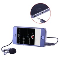 Neewer LM10 Lavalier Lapel Clip-on Omnidirectional Condenser Microphone for iPhone 6 plus/5s/5/4s/4, for iPad mini,for iPad air