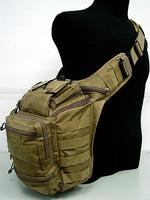 Tactical Single Shoulder Messenger Bag Multi Purpose Molle Utility Gear Tool Casual Bags Black Khaki