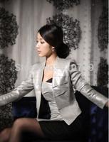 2015 new hot Brand Coat Jacket Women Suit Plus Size Basic Jackets Coats Regular Sleeve Outerwear Coats small slim suit jacket