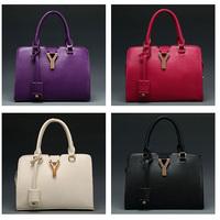 2015 New Arrival Fashion Women Designer Handbags High Quality Bolsos Mujer Zipper Versatile Saffiano Solid Candy Color Bag
