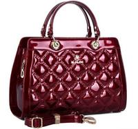NO.1 2015 New Women's Handbags Tassel Women Messenger Bags OL Ladies Patent Genuine Leather Handbags Bolsas Women Leather Bags
