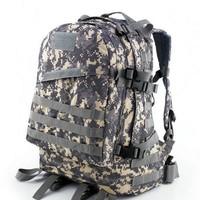 3-Day bag Military 600D Multifunctional 3D knapsack backpack shoulder bag travel sport bags 36-55 Litre ACU camouflage