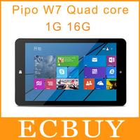 7 inch Pipo W7 Windows 8.1 Tablet PC Intel Atom Z3735G Quad Core 1GB RAM 16GB ROM win8 Dual Camera GPS HDMI OTG Winpad Tablets
