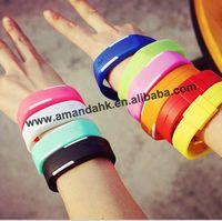 2015 NEW Square Dial Digital Jelly Silicone Bracelet LED Sports Wrist Watch fashion Women Men Watch