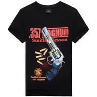 Smith & Wesson Model 357 Mens Tshirt Tops Tee Shirt Summer Short Sleeve L XL XXL XXXL