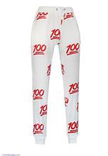 2015 New Arrival Sale Regular Mid Broadcloth Drawstring Natural Color None Jeans Yoga Yoga Pants 100 Score Emoji Pants Lc79571