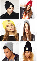 buy 1PC Fashion Carhart/t Beanie Hats Caps Wool Winter Knitted Caps and Hats For Man and Women+Free Shipping