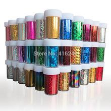 46 Designs Nail Art Transfer Foils Sticker,3pcs/lot Hot Beauty Free Adhesive Nail Polish Wrap,Nail Tips Decorations Accessories