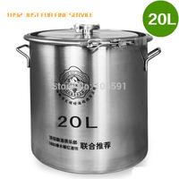 brewed wine fermenters High quality shrink 20L necking, 316 stainless steel barrel, beer fermentation tanks keg