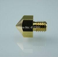 1 piece Ultimaker Copper Printer Nozzle For 3mm Filament 0.4mm drill 3d Printer Hot End Nozzle