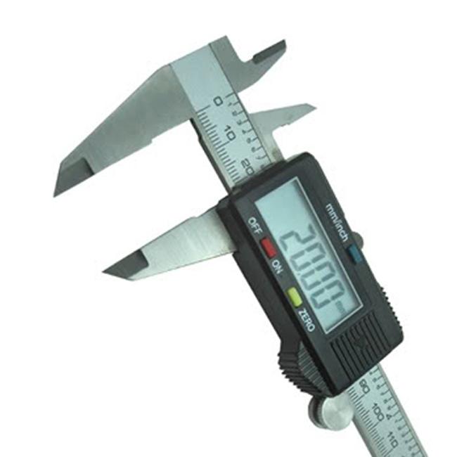 Stainless Vernier Caliper Digital LCD 150mm Measure Tool Steel Micrometer Gauge(China (Mainland))