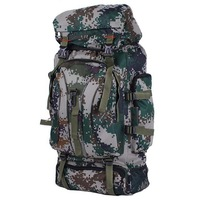 Large capacity military training backpack for men and women mountaineering bag outdoor sports travel luggage backpack