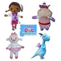 2015 New Doc Mcstuffins Dolls For Girls Plush Dolls Spongebob Plush Toys 4 pcs/set Free Shipping