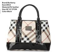 Burberi handbags new collection 2014 fashion famous brand purses leather bags female designer high quality bolsas femininas 8914