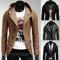 Casual Slim Stylish fit One Button Suit men Blazer Coat Jackets men garment