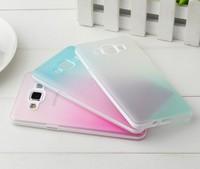 Galaxy A5 soft TPU rainbow Case,Gradient TPU Soft Case for Samsung Galaxy A5 A5000 + freeship