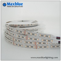 SMD5050 RGBW led strip, four colors in one smd 5050 led strip, 5m reel 24V 84leds/M CRI 80+ free shipping