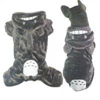 BIG SIZE New Chinchilla Design Coral Fleece Dog Clothing Large Dog Clothes Warm Jumpsuit Coats Winter Jumpers 2XL 3XL 4XL 5XL